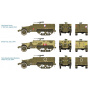 Fast Assembly military 7509 - M3A1 HALF TRACK (1:72)