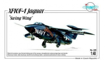 XF10F-1 Jaguar Swing Wing 1/48 - Special Hobby
