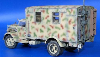 1/35 Opel Blitz Radio Car - Conversion Set