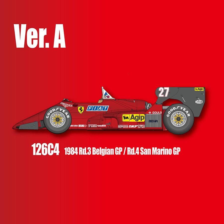 Ferrari 126C4/C4M/C4M2 Fulldetail Kit