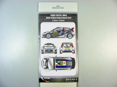 Ford Fiesta WRC Rally ADAC Deutschland 2014 C.Breen - MF-Zone