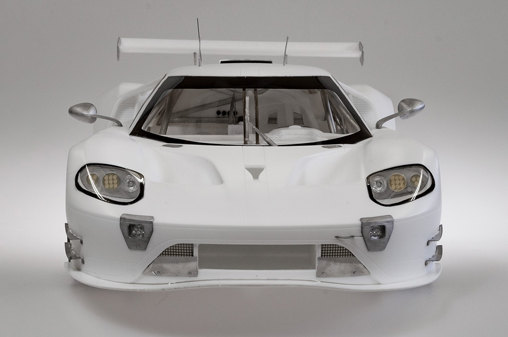 Ford Gt Gte 2017 Proportion Kit 1 12 Model Factory Hiro