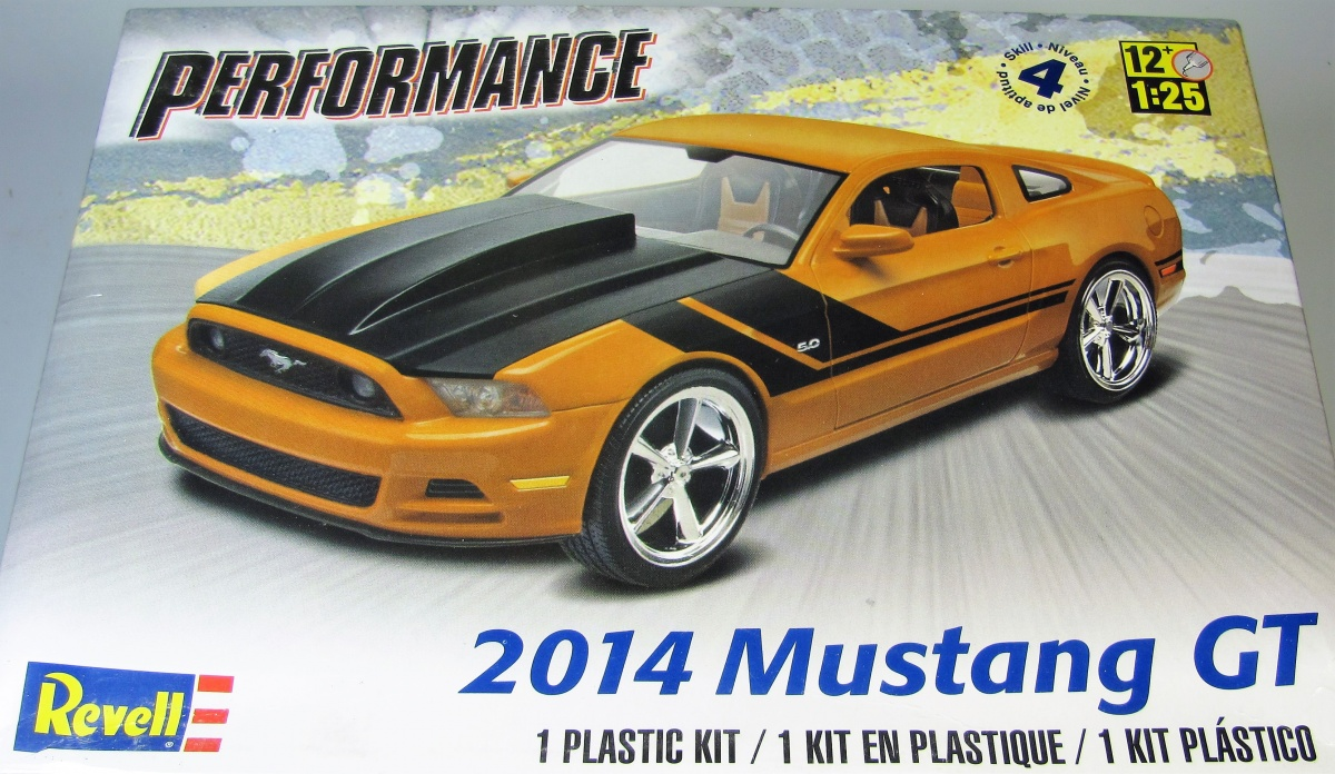 Ford mustang gt revell