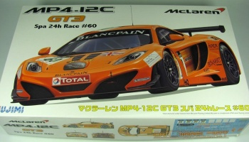 McLaren MP4-12C GT3 Spa 24h #60 - Fujimi