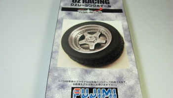 17-inch OZ Racing Wheels and Tires Set - Fujimi