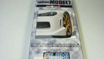 17-inch Yokohama Model 7 Wheel - Fujimi