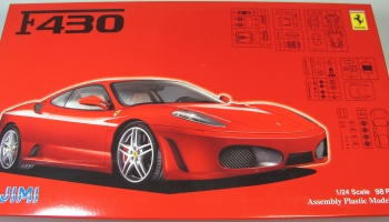 Ferrari F430 + Window Mask - Fujimi