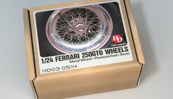 Ferrari 250GTO Wheels For Fujimi - Hobby Design