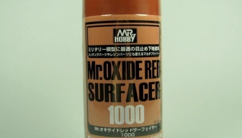 Mr. Oxide Red Surfacer 1000 - Gunze