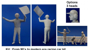 Marshall Yellow Flag Figure - GF Models