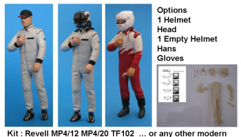 Driver Figure Raikkonen MP4/20 1:24 - GF Models