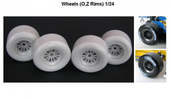 Rims OZ R23, FW23, EJ10 for Revell 1:24 - GF Models