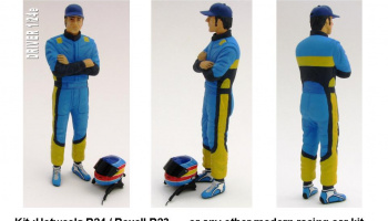 Driver Figure Alonso Renault 1:24 - GF Models