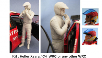 Co-driver Figure WRC - GF Models
