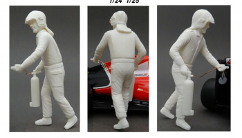 Figure Marshall Fire Extinguisher 1:24 - GF Models