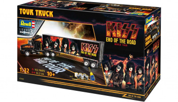 KISS Tour Truck (1:32) Gift-Set 07644 - Revell
