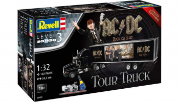 "Truck & Trailer ""AC/DC"" (1:32) Gift-Set Limited Edition 07453 - Revell"