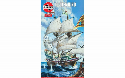 Golden Hind (1:172) Classic Kit VINTAGE A09258V - Airfix