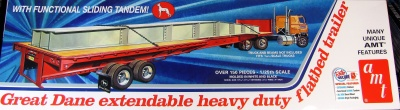 Great Dane Extendable Duty Flatbed Trailer - AMT