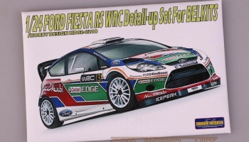 Ford Fiesta RS WRC Detail-up Set For BELKITS - Hobby Design