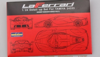 LaFerrari detail set for TAMIYA - Hobby Design