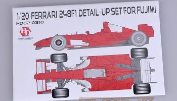 Ferrari 248F1 Detail-UP Set For F - Hobby Design