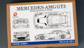 Mercedes AMG GT3 Detail Up Set - Hobby Design