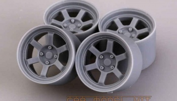 17' RAYS TE37V Wheels - Hobby Design