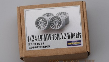 19'ADV 15M.V2 Wheels - Hobby Design