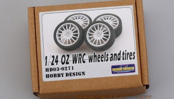 OZ WRC Wheels and Tires - Hobby Design