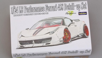 LB Performance Ferrari 458 Detail-up Set - Hobby Design