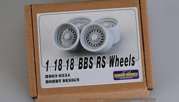 18' BBS RS Wheels 1/18 - Hobby Design