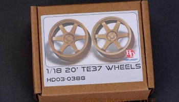 20' TE37 Wheels 1/18 - Hobby Design