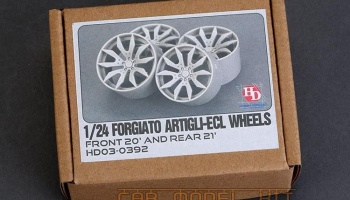 Forgiato Artigli-ECL Wheels (Front 20' AND REAR 21') - Hobby Design