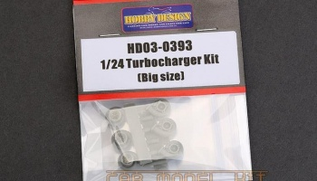 Turbocharger Kit (Big Size) - Hobby Design