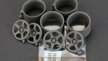 18´ Nismo LMGT2 WHEELS FOR TAMIYA R32 - Hobby Design