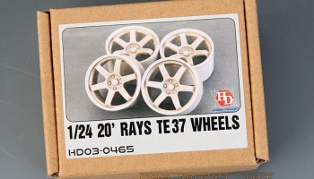20' RAYS TE37 Wheels - Hobby Design