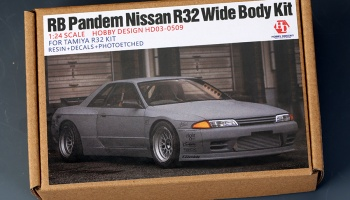 RB Pandem Nissan R32 Wide Body Kit For Tamiya R32 KIT - Hobby Design
