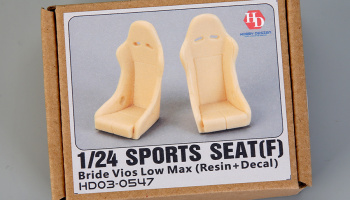 Sports Seat (F) Bride Vios Low Max 1/24 - Hobby Design