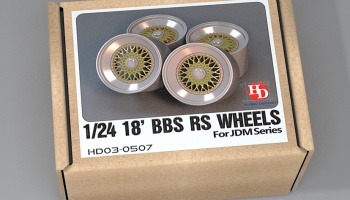 18' BBS RS Wheels For Jdm Series - Hobby Design