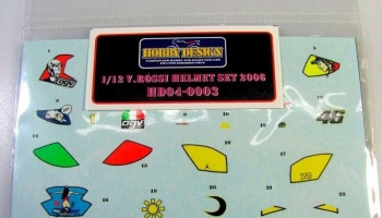 V. Rossi helmet decals for 2006 - Hobby Design