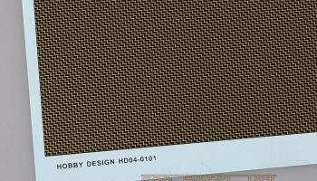 Carbon Kevlar Decal (B) - M (For 1/12 Scale model) - Hobby Design