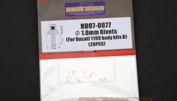 1.0mm Rivets (For Ducati 1199 body kits B) - Hobby Design