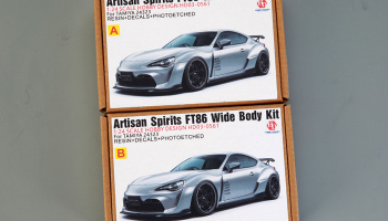 Artisan Spirits FT86 Wide Body Kit For Tamiya 24323 1/24 - Hobby Design