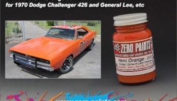 Hemi Orange (General Lee) - Zero Paints