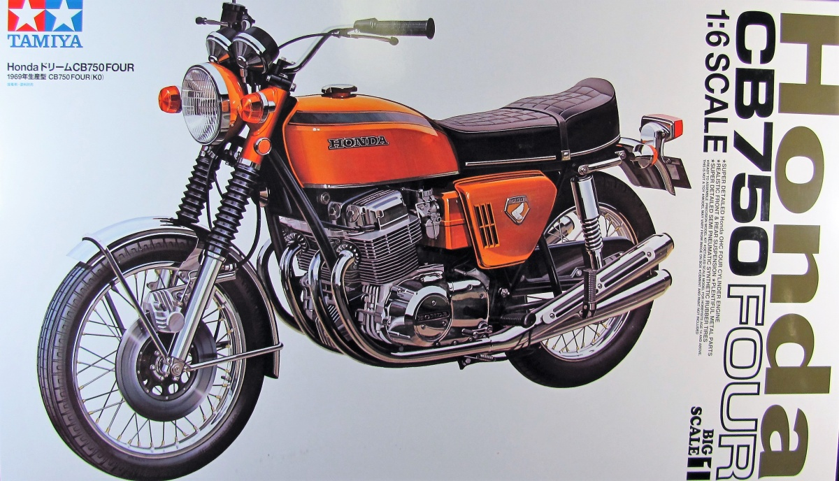 Honda CB750 Four - Tamiya | Car-model-kit com