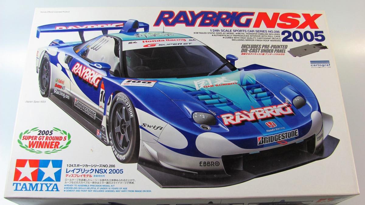 Honda NSX Raybrig 2005 - Tamiya | Car-model-kit com