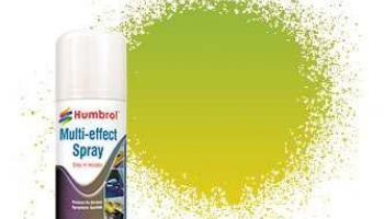 Humbrol sprej akryl AD6214 - Green Multi-Effect Spray
