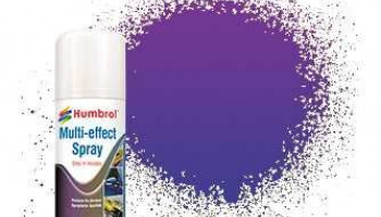 Humbrol sprej akryl AD6215 - Violet Multi-Effect Spray