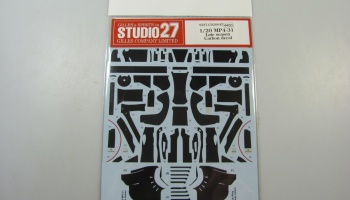 Mclaren MP4-31 Carbon Decal - Studio27
